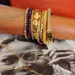 Jasmine Stack Bracelets